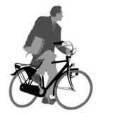 bicycle commuting    poster
