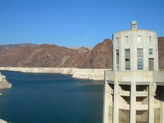 Tower at Hoover Dam