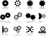 Set icons - 18. Gears
