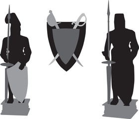 Vector silhoutees