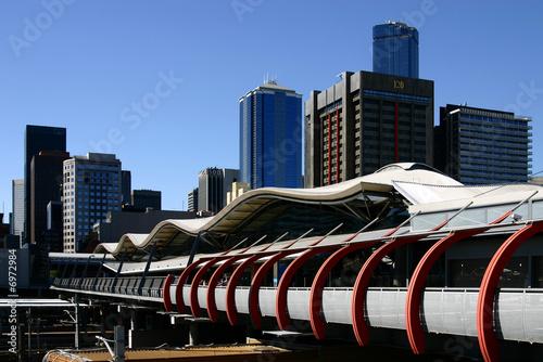 Leinwanddruck Bild Melbourne - Southern Cross Station