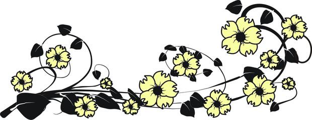 Hintergrund Blume