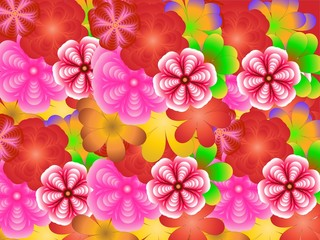 Holiday of spring, flower background