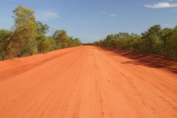 Australian rural road.