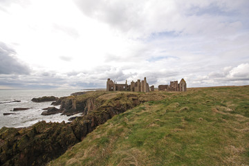 The ruins of Slains Castle