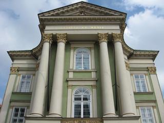 Historische Fassade in Prag