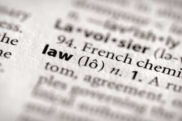 Dictionary Series - Law