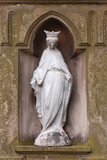 Vintage statue of st Mary