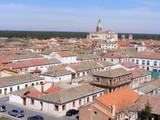 Vista del pueblo de Coca en Segovia poster