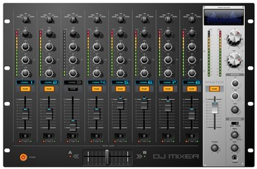 8 channel mixer