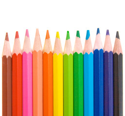 colored pencils for school design