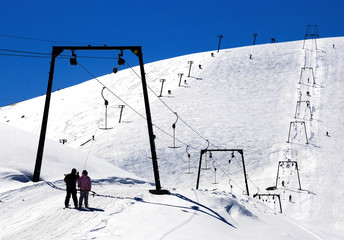 Ski center Mavrovo from Macedonia