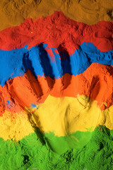 Color handprint