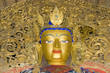 statue inside Palkhor Monastery