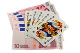 Five Jokers card poster