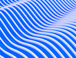 3d abstract blue waves background. Rendered image.