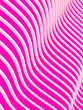 3d abstract pink waves background. Rendered image.