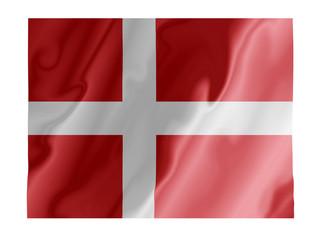 Denmark fluttering
