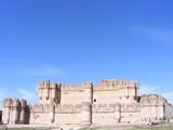 Vista exterior del Castillo de Coca (Segovia) poster