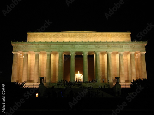Lincoln Memorial at Night, Washington DC