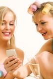 SMS checken poster