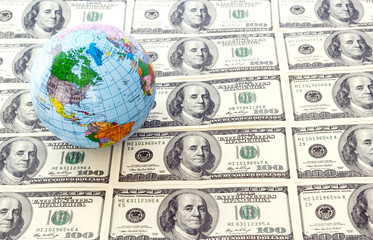 dollars  and  globe