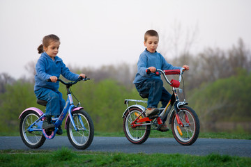brothers on a bicycle