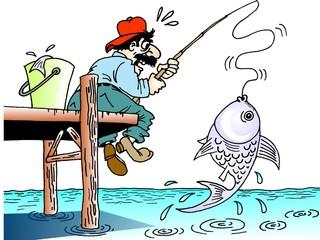 Pescaria no Pier