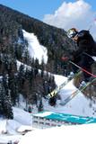 Fototapeta Skisprung auf der Lizum