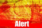 Alert Warning System Message poster