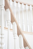 Staircase baluster poster