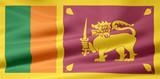Sri Lanka Flagge poster