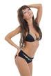 Sexy bikini woman