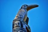 Raven totem poster