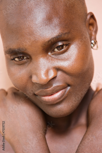 Portrait  African woman