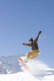 extreme snowboarding poster
