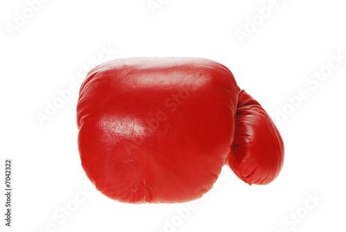 Leinwandbild Motiv Boxhandschuh