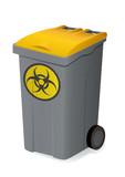 Container de déchets biologiques poster