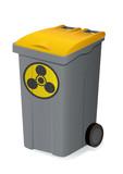 Container de déchets chimiques poster