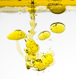 olive-oil in water