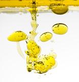 Fototapeta olej - oliwkowy - Przyprawa / Dressing / Olej roślinny