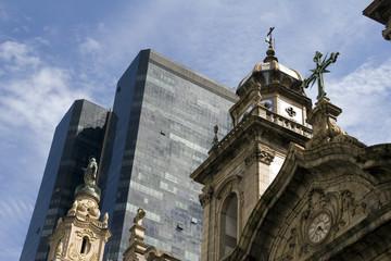 Cathedral in the center of Rio de Janeiro