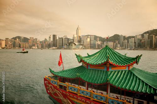 Foto op Aluminium Hong-Kong Hong Kong