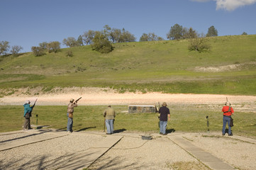 Trap shooters