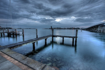 Early morning in forster - blue tones