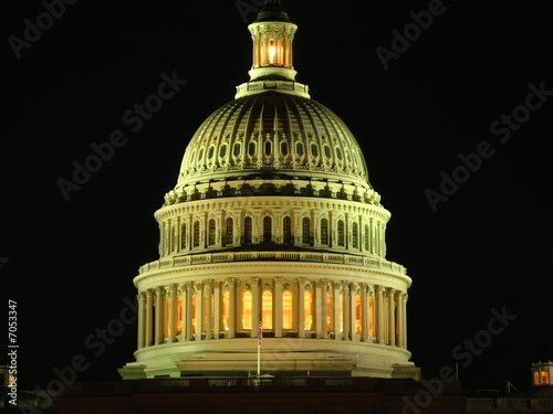US Capitol by Night, Washington DC