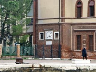 Immeuble sur un quai, Venise.