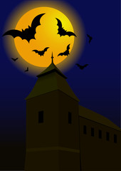 Bats in the dark night