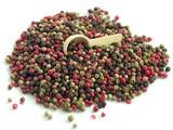 grains of multicolor pepper poster