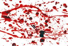 Rozpryski krwi